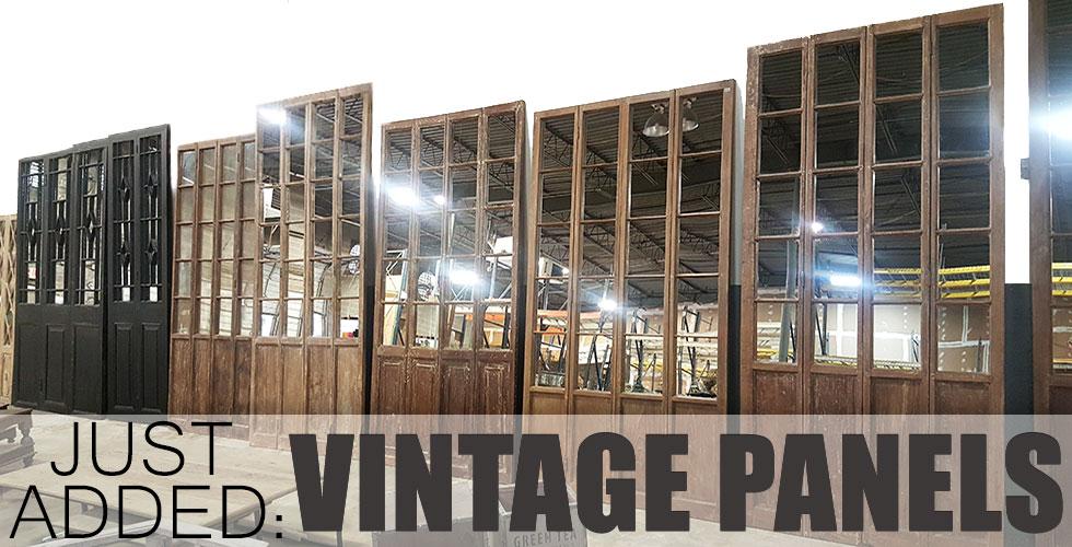 Vintage Panel Doors