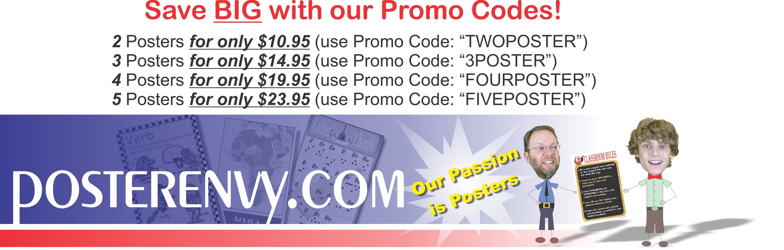 Save Big With Our Promo Codes!