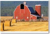 American Farm - Big Red Barn