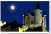 Alcazar Castle by Moonlight - Segovia Spain