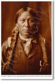 Jicarilla Apache Man - NEW Classroom Social Studies Poster