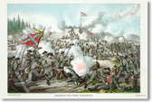 Assault on Fort Sanders - Civil War - Nov 29 1863 - NEW Classroom Social Studies Poster