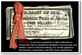Red Tape - NEW Classroom Social Studies Poster