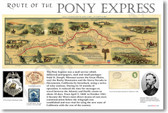 Pony Express - NEW Classroom Social Studies Poster