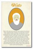 Plato - NEW Classroom Social Studies Poster