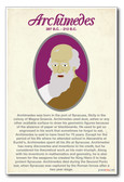 Archimedes - NEW Classroom Social Studies Poster