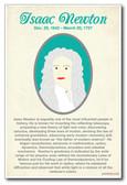 Isaac Newton - New Classroom Social Studies Poster