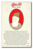 Euclid - NEW Classroom Social Studies Poster
