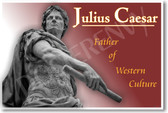 Julius Caesar - NEW Classroom Social Studies Poster