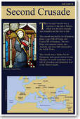 The Second Crusade - NEW Social Studies Classroom Poster