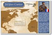 Explorer Jacques Cartier - Social Studies Classroom Poster
