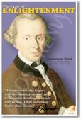 German Philosopher Immanuel Kant - Enlightenment Poster