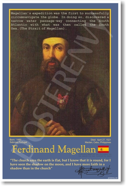 where ferdinand magellan explored