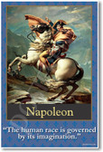 Napoleon - The Human Race is Governed by its Imagination