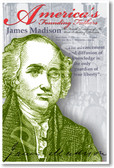 President James Madison - America's Founding Fathers