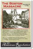 The American Revolution - The Boston Massacre