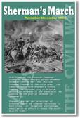 Sherman's March - Union Army - U.S. Civil War
