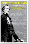 Jefferson Davis - Social Studies Poster