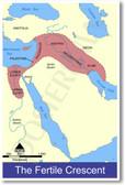 Fertile Crescent Map - Ancient Civilizations