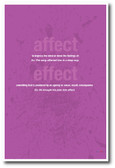 Affect Vs Effect 3 - NEW Classroom Reading and Writing Poster