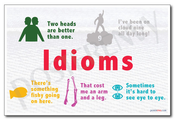 Idioms - NEW Classroom Reading and Writing Poster