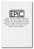 Epic - NEW Classroom Reading and Writing Poster