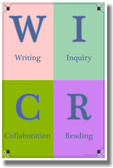 WICR - NEW Classroom Reading and Writing Poster