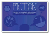 Fiction - NEW Classroom Reading and Writing Poster