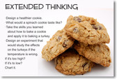 Extended Thinking - NEW Classroom Reading and Writing Poster