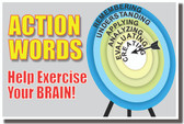 Action Words Help You Learn