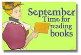 September Time for Reading Books