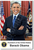 President of the US Barack Obama - NEW Political Poster
