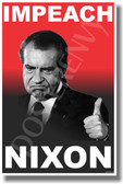 Impeach Nixon - NEW Political Poster