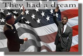 King & Obama - They Had a Dream