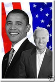 President Barack Obama & Vice President Joe Biden - Historic Ticket