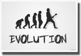 Bass Evolution - White - NEW Music Poster
