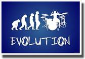 Drummer Evolution 2 - NEW Music Poster