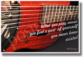 When You Play Music - Resonator - NEW Music Poster