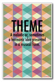 Theme - NEW Music Poster