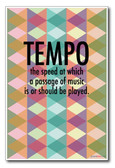 Tempo - NEW Music Poster