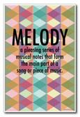 Melody - NEW Music Poster