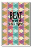 Beat - NEW Music Poster