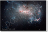 Starburst in NGC 4449 - NEW Space Astronomy Poster