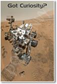 Got Curiosity? - NEW Classroom Science Poster