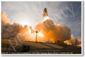 Liftoff of Space Shuttle Endeavor - NEW Space Astronomy Poster