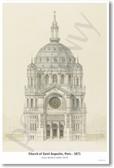 Church of Saint Augustin Paris - 1871