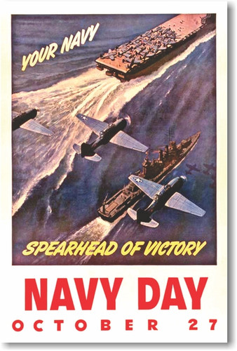 Your Navy Spearhead of Victory