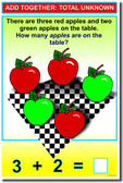 Add Together - Total Unknown - NEW Elementary School Classroom Math Poster