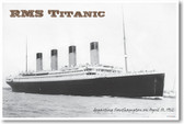 RMS Titanic - NEW Vintage Reprint Poster