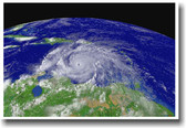Hurricane Ivan from Space - Classroom Weather Science Poster